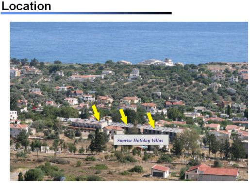 Sunrise Villas, North Cyprus